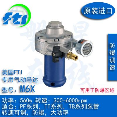 美国进口FTI插桶泵PF系列TT系列TB系列用气动马达M6X